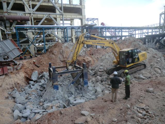 80 ton Tower crane foundation ....