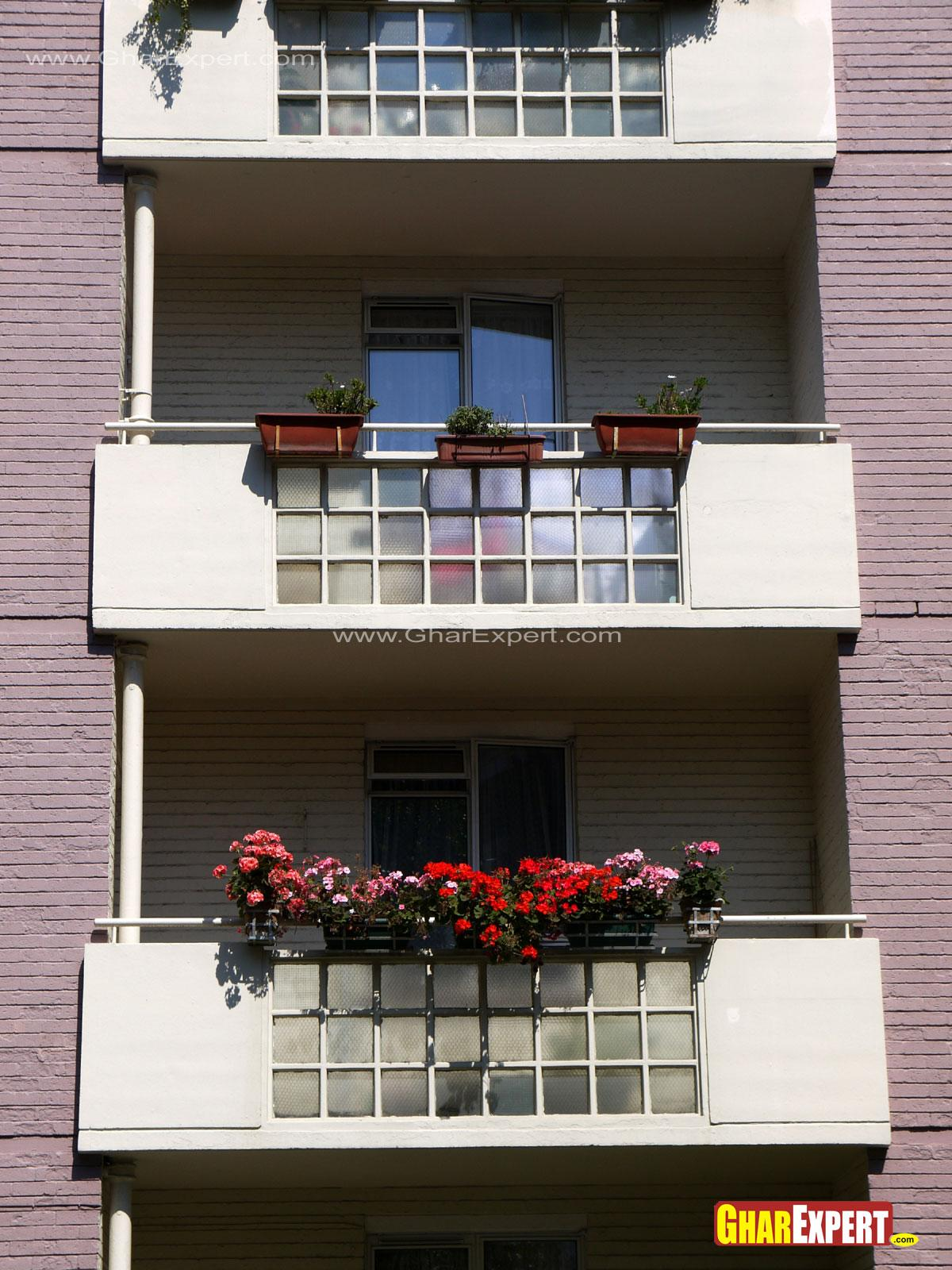 Balcony Wall Designs