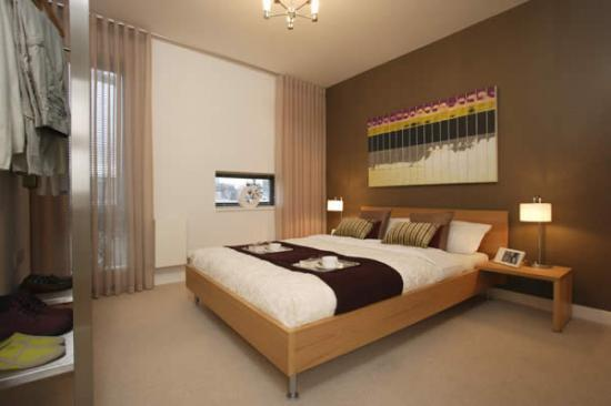 Simple and modern bedroom furn....