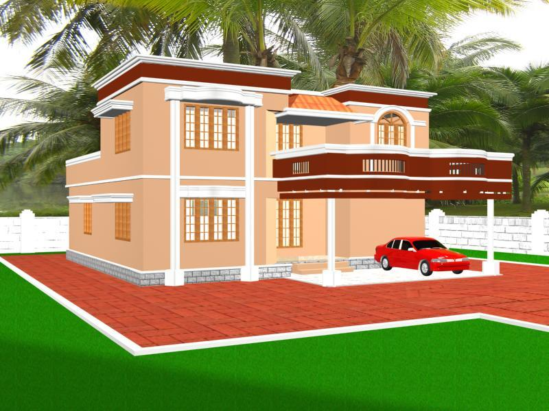 3d House Elevation Design Gharexpert: latest 3d home design