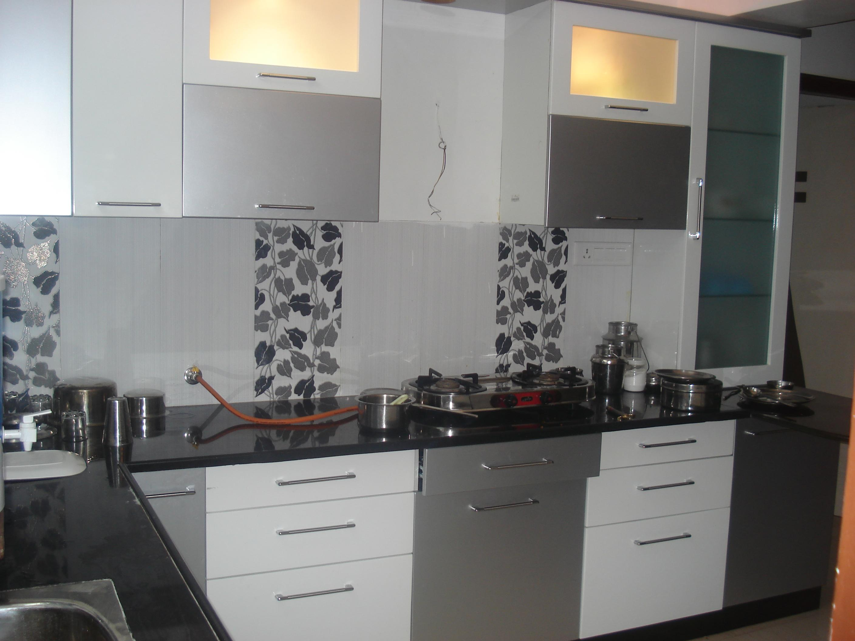 Grey Kitchen Gharexpert