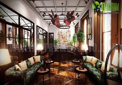 Residential Interior Living Ro....