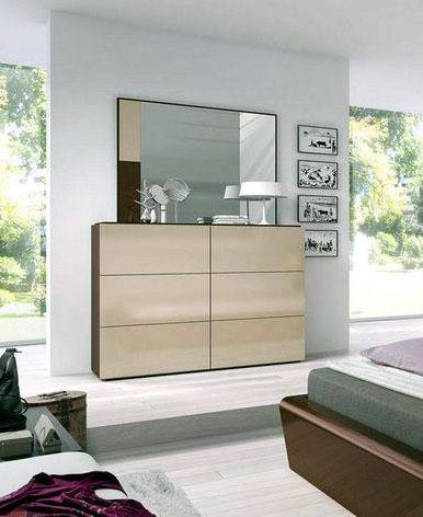 closet for bedroom with mirror