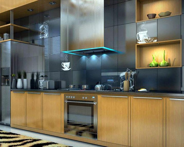 modern design of kitchen in bl....