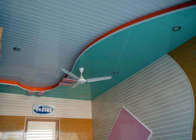 Simple ceiling design for lobby/ living room - GharExpert