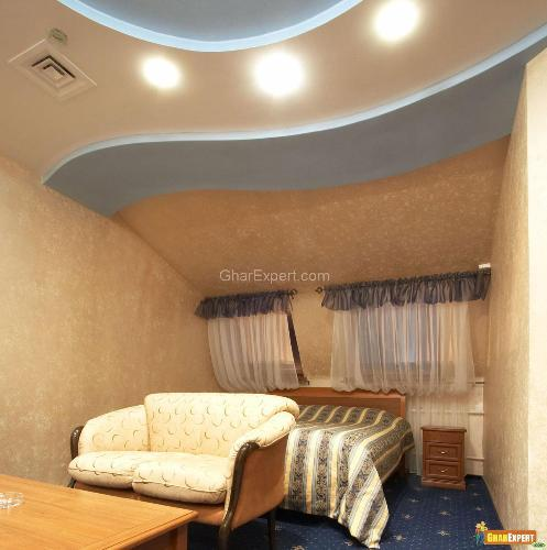 POP Ceiling Design For Bedroom