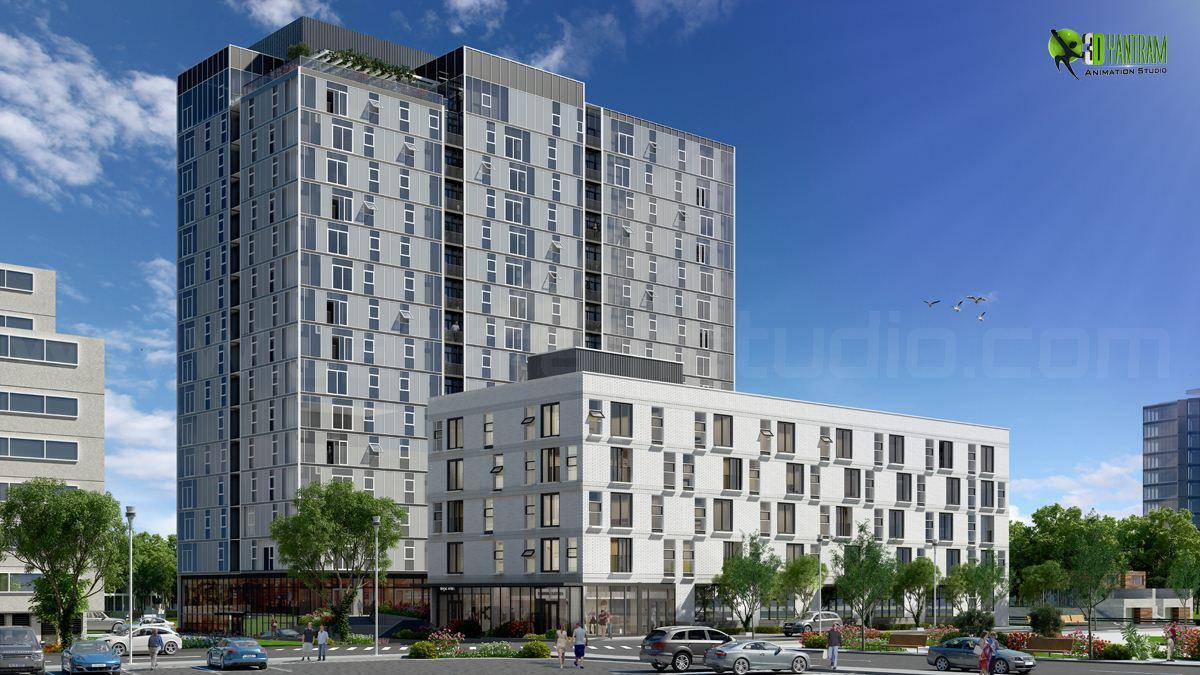Architectural Exterior Renderi....