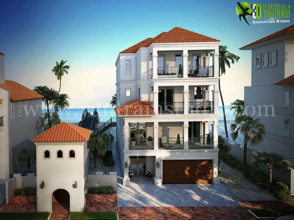 3D Luxurious Home Exterior Des....