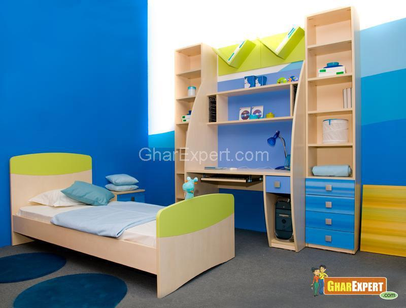 Multiple Cabinets in Kids Room