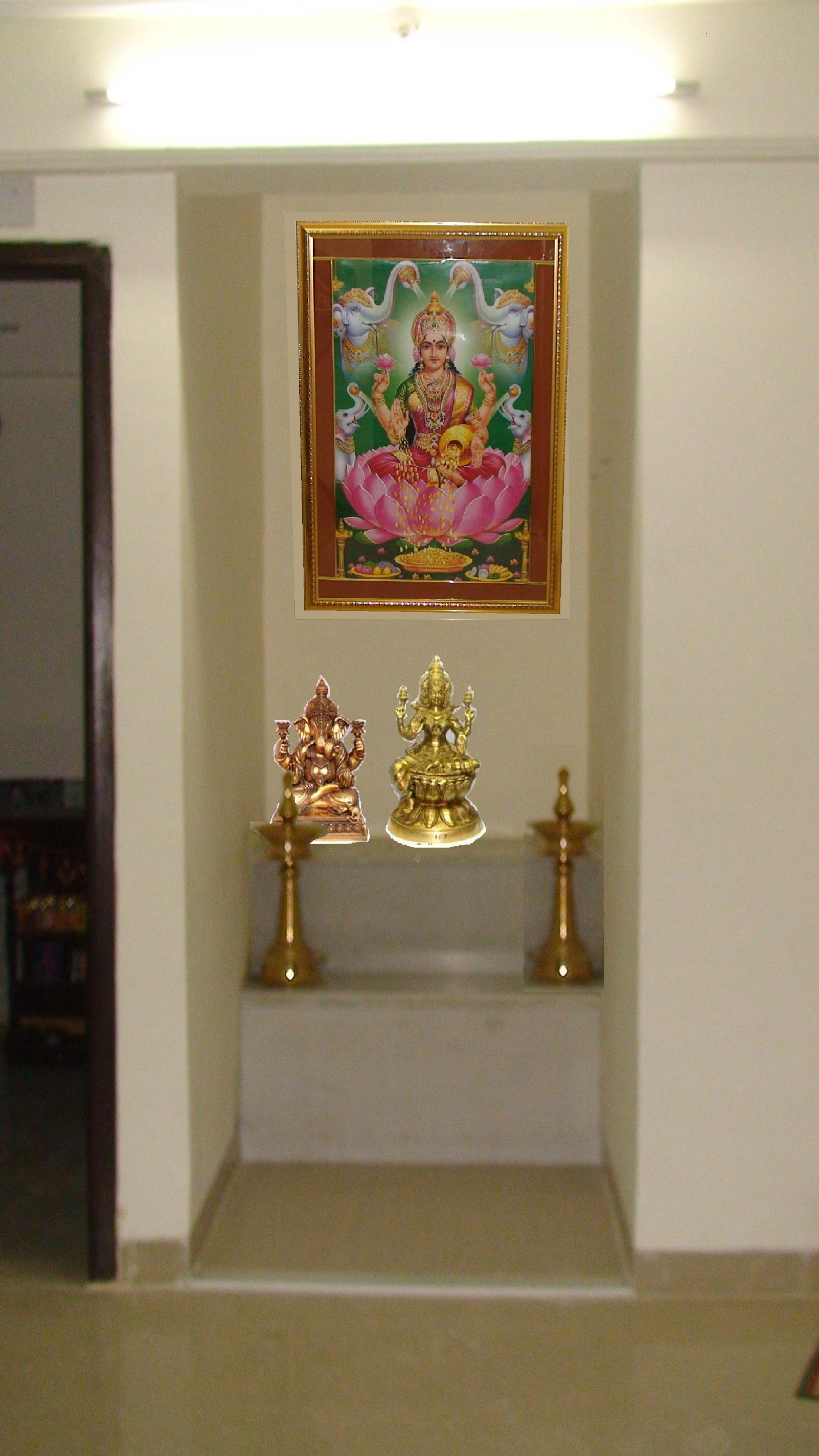 Displaying 19> Images For - Home Mandir Room...