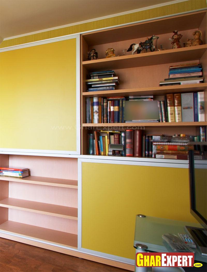 Cabinet Design For Study Gharexpert