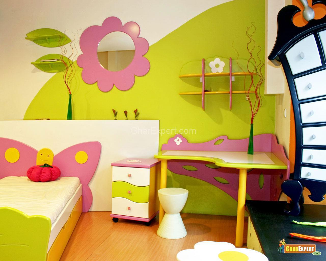 Как украсить детскую мебель своими руками фото
