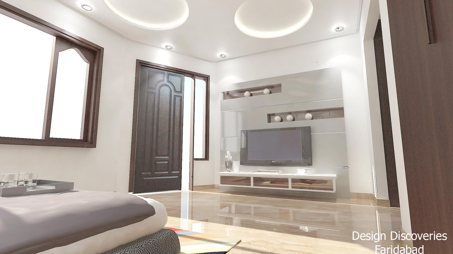 Bedroom tv panel