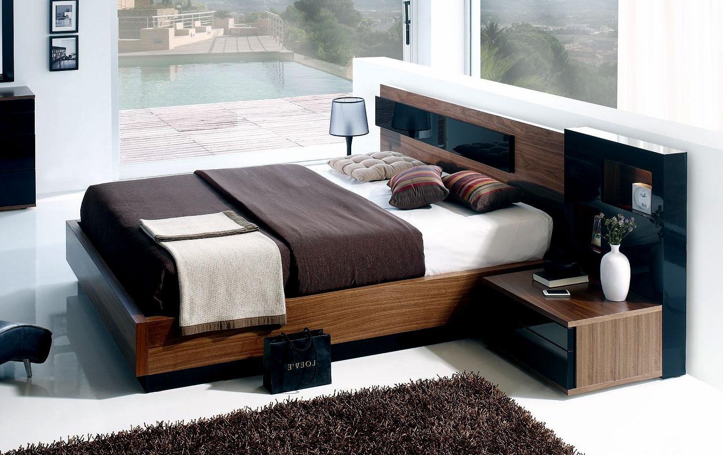 modern platform bed design wit....