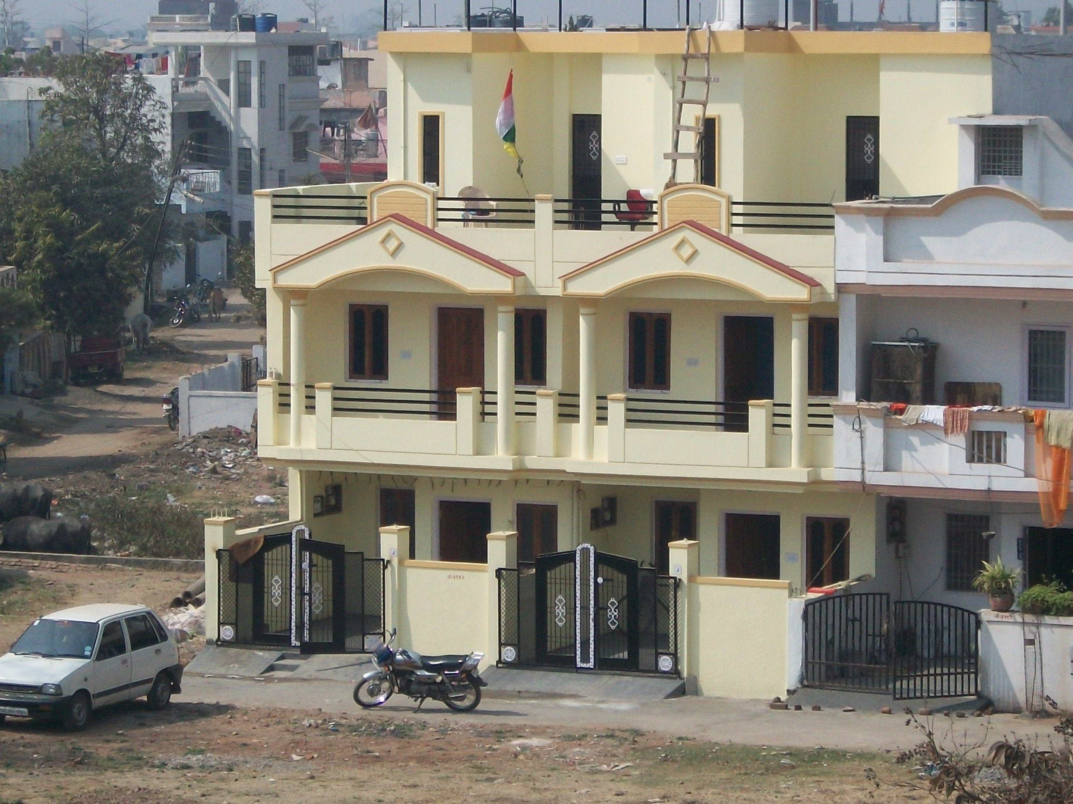 3 BHK Duplex on plot 15