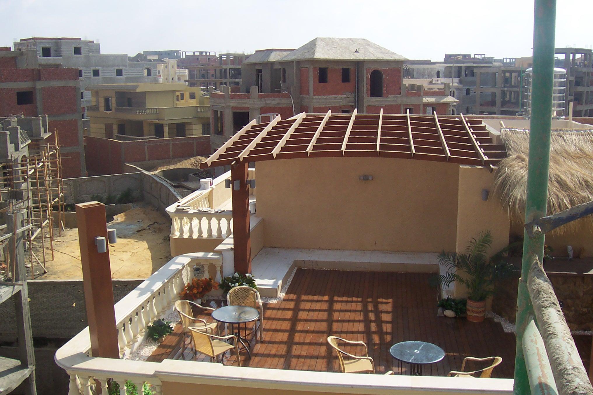 Roof Garden in 5th Compund
