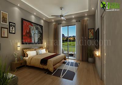 3D Interior Animation of Moder....