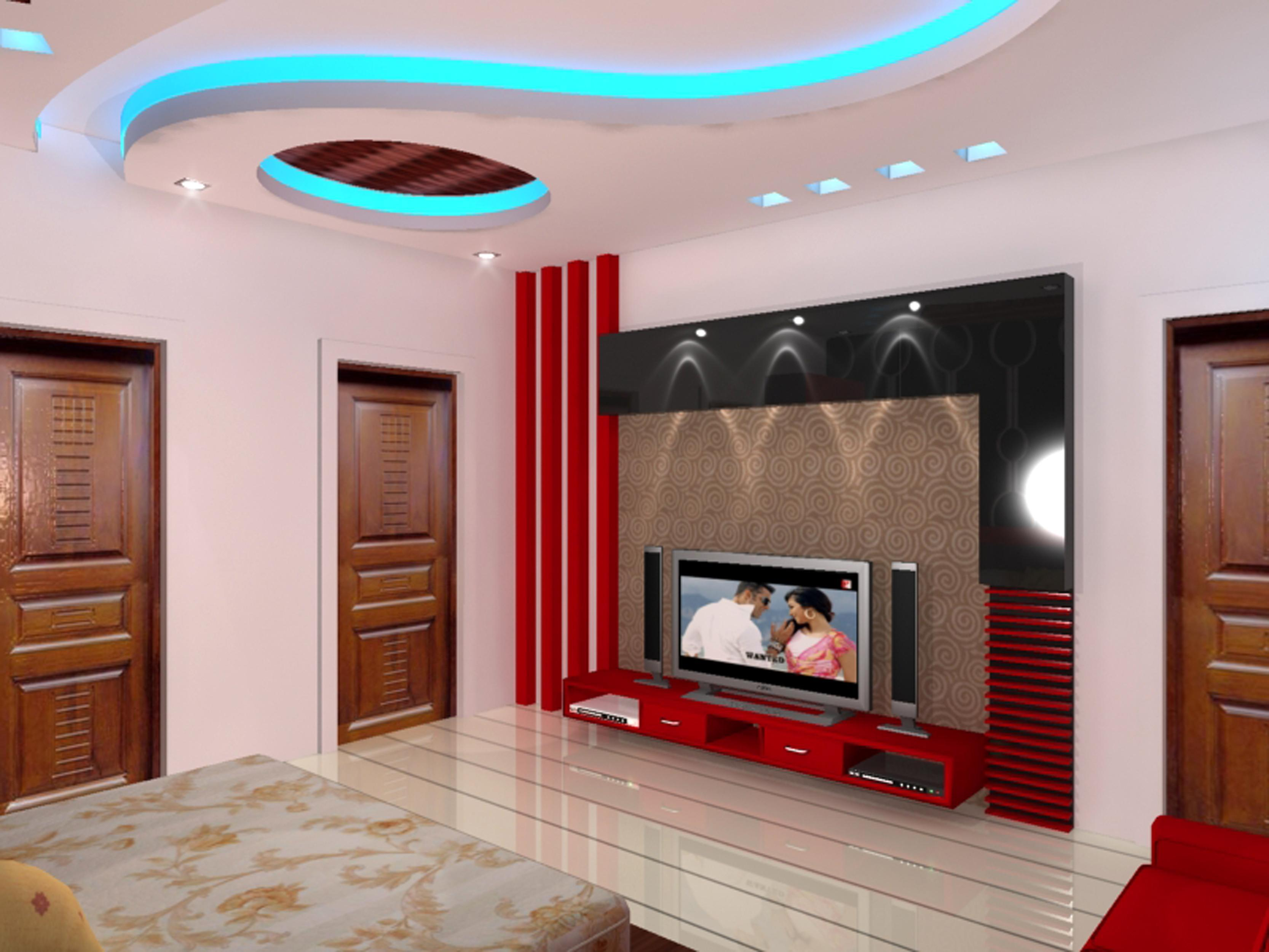 Lcd Wall Design In Bedroom Bedroom Ideas - Lcd wall design in bedroom
