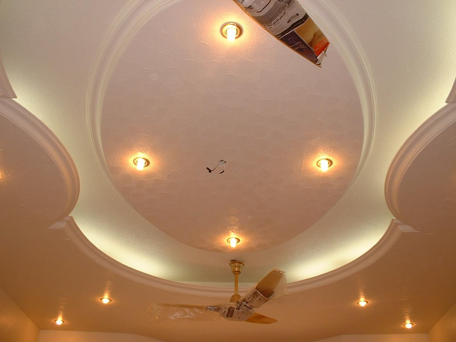 POP ceiling design with LED lights and Ceiling fan  : 1162010122331 from www.gharexpert.com size 1600 x 1200 jpeg 163kB