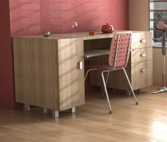 Simple Study Table : Simple design Study table - GharExpert