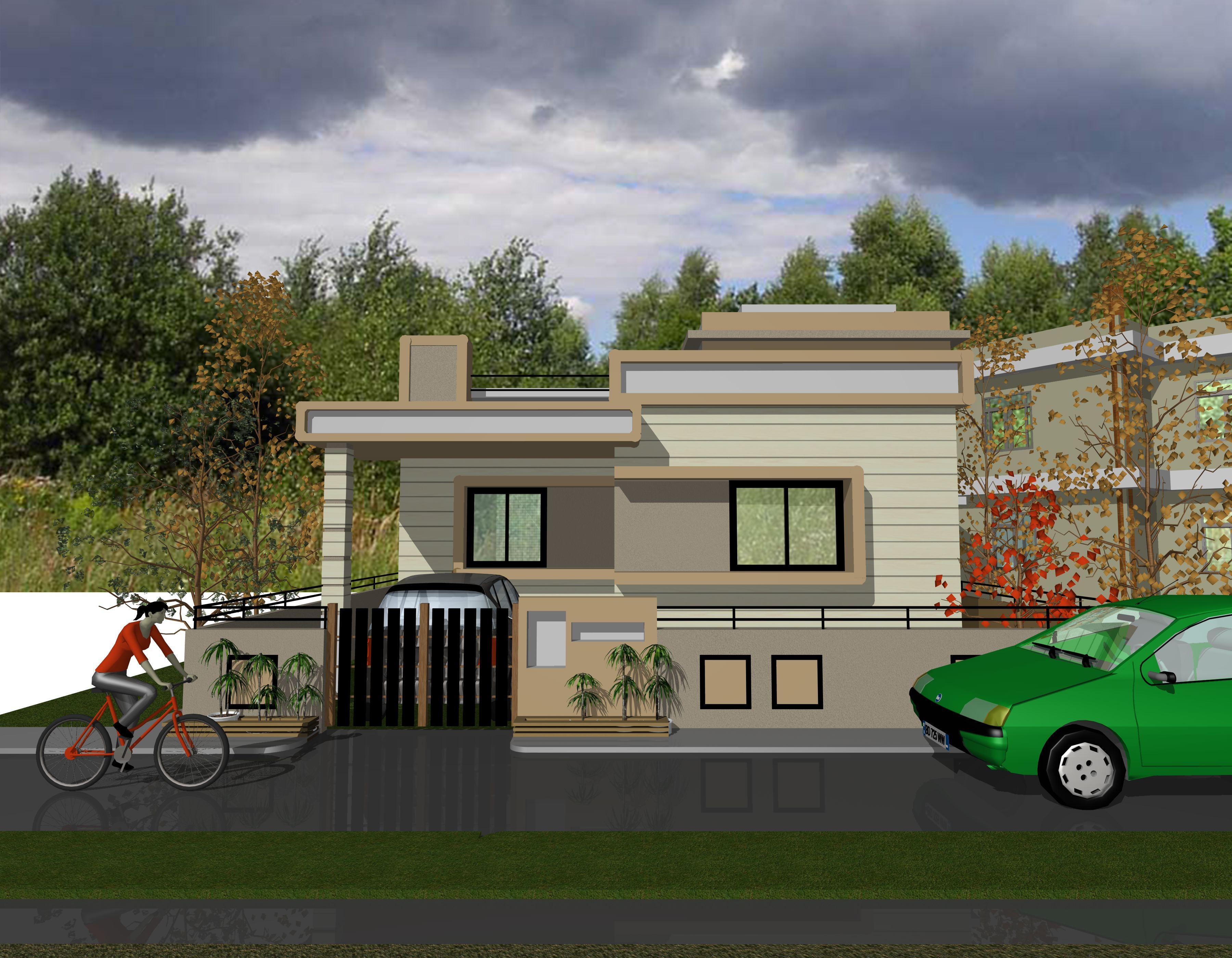 Gharexpert Front Elevation : D front elivation joy studio design gallery best