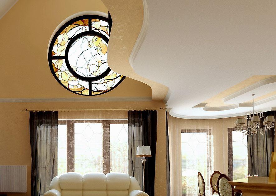 False Ceiling design in dual s....