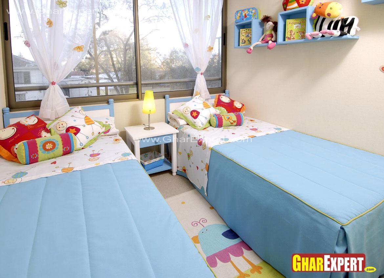 Siblings bedroom decor