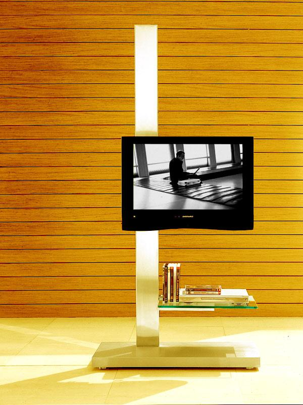 Adjustable TV stand for LCD