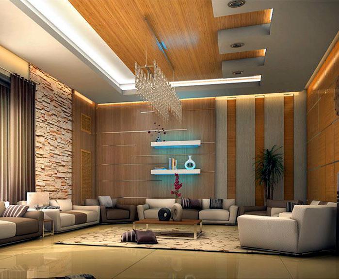 Brown tone modern furniture