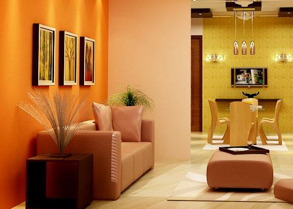 living and dining area decor