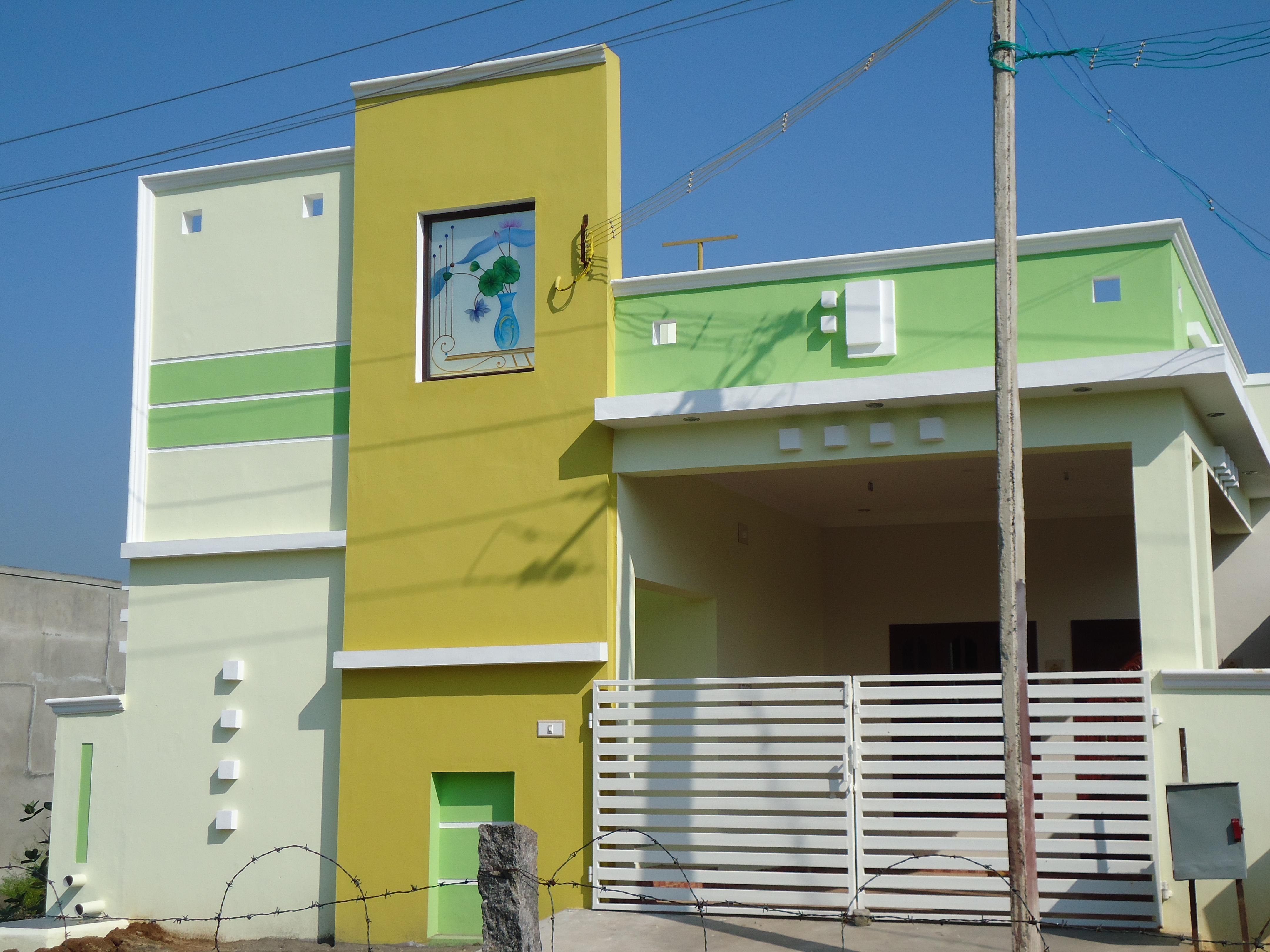 Exterior elevation design