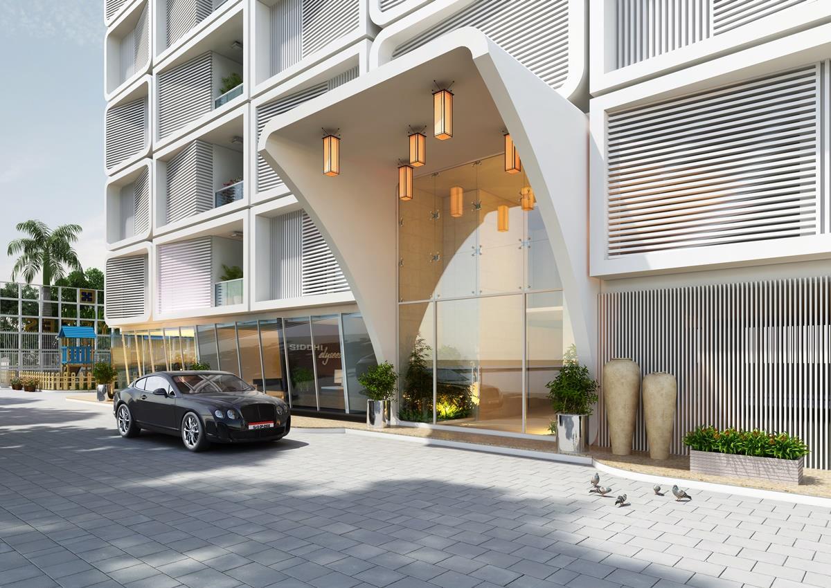 Classic Hotel Exterior Design Gharexpert