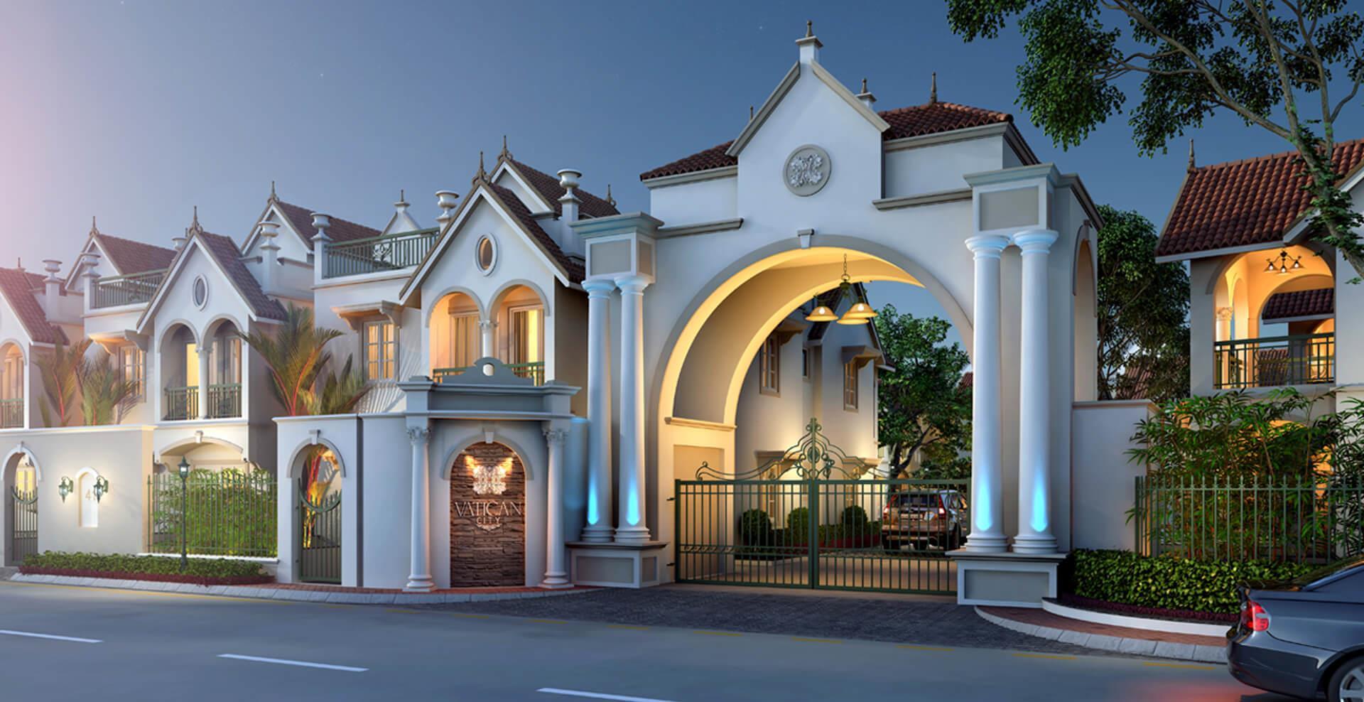 Modern Luxury House Exterior d....