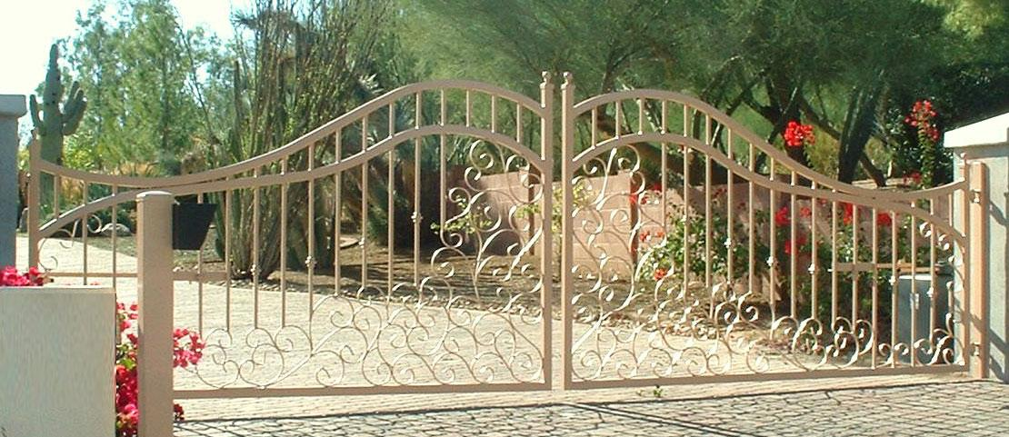 entry gate flower design
