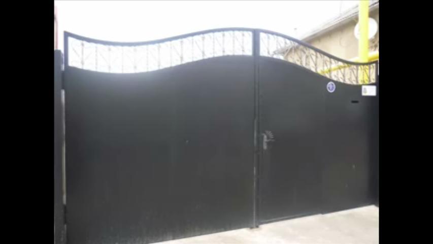Simple Main gate design in ste....
