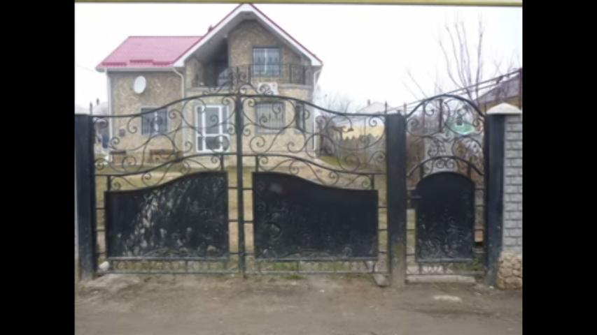 Main gate design with small do....