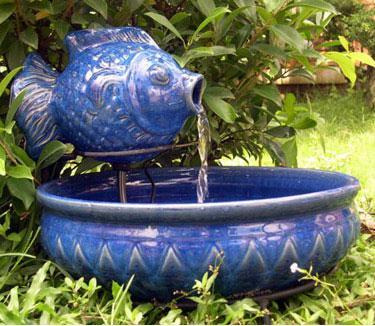 Fish Garden Fountain