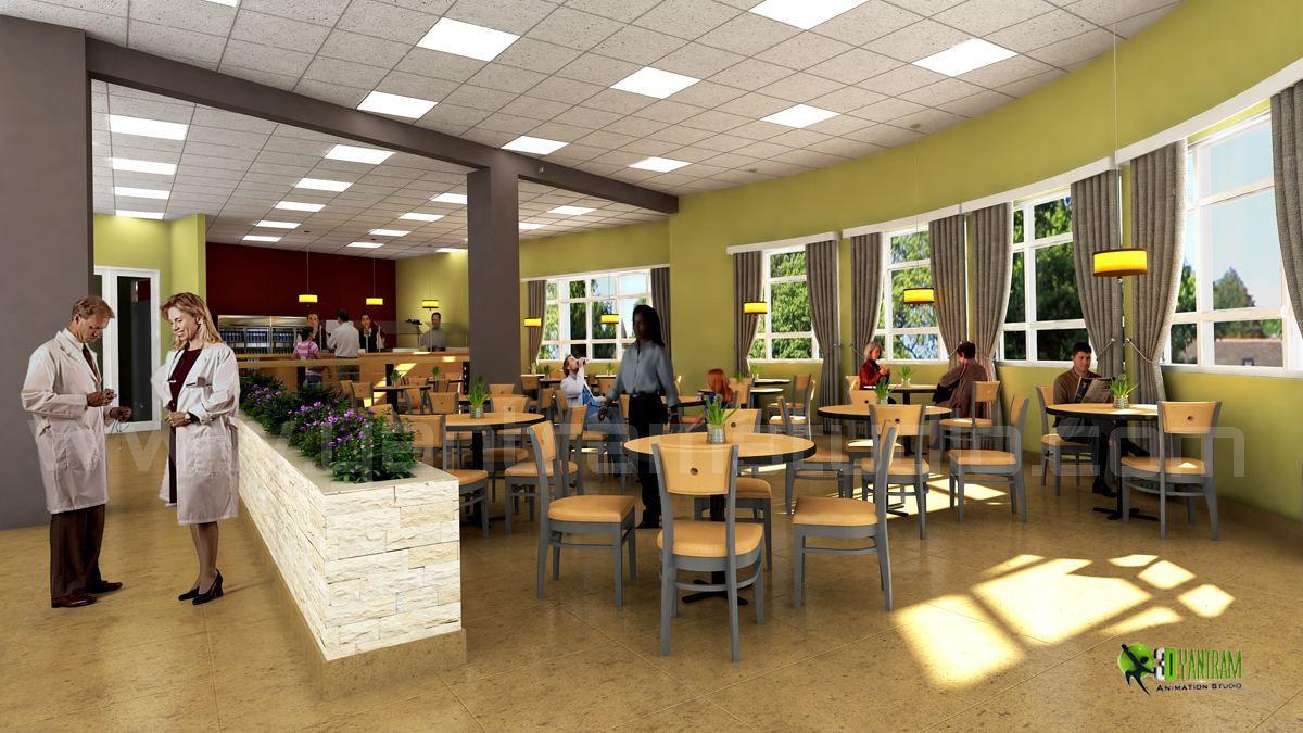 3D Hospital Lobby Interior Des....