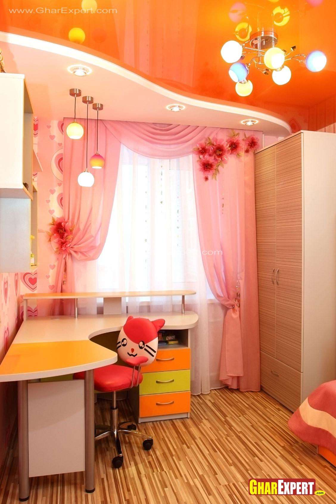 Kids Room False Ceiling Design: Kids Room Ceiling Design And Furniture
