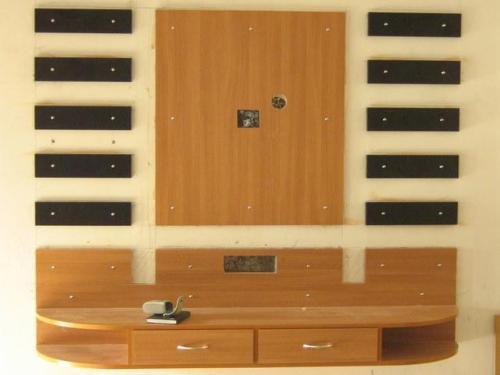 Lcd unit design gharexpert - Simple wall unit designs ...