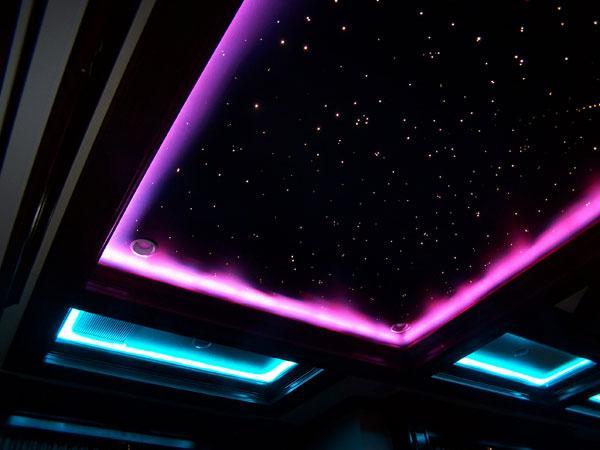 Fiber Optics Starry Interior L....