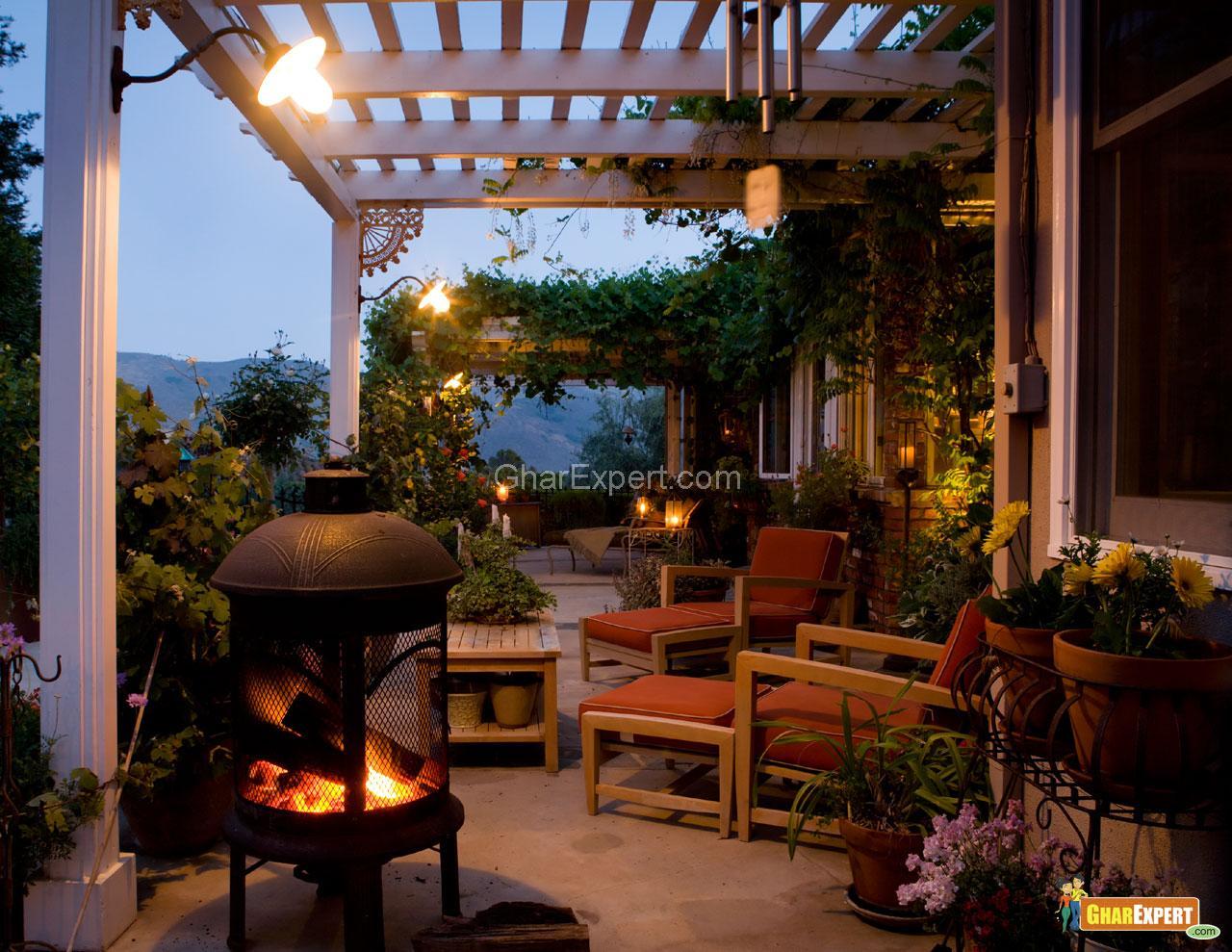 Lighting in Porch