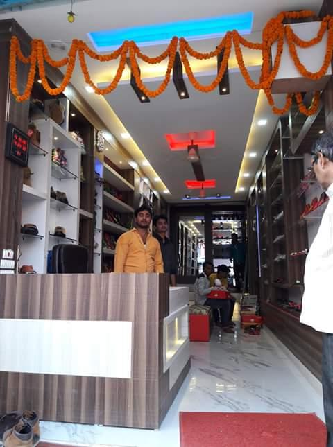 National shoose shop design
