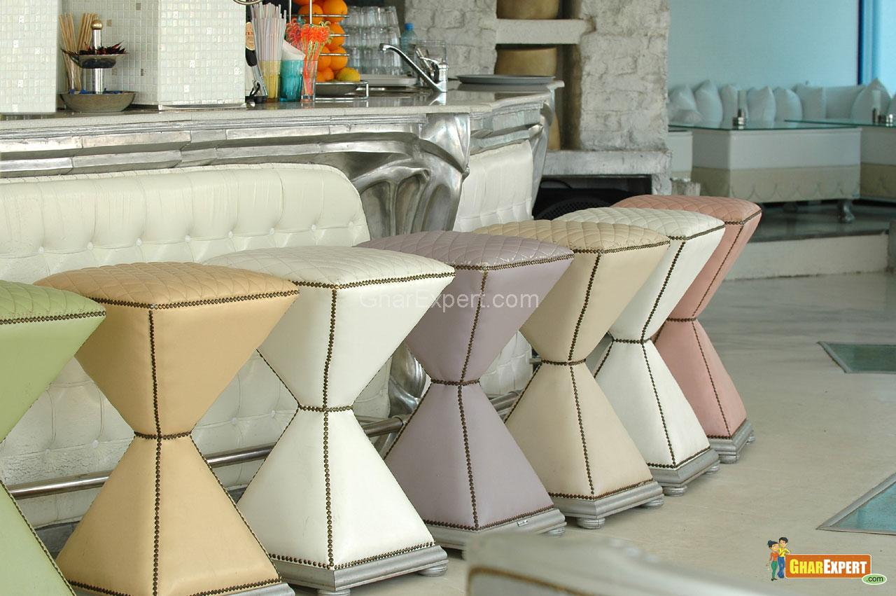 Stylish Bar Stools in Living R....