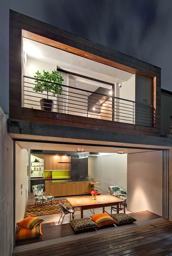 GF- living kitchen and FF balc....