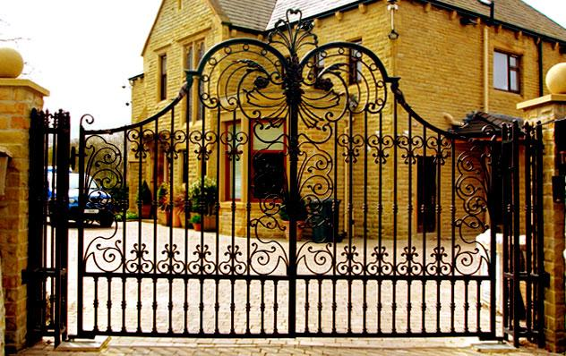 wrought iron gates design in t....