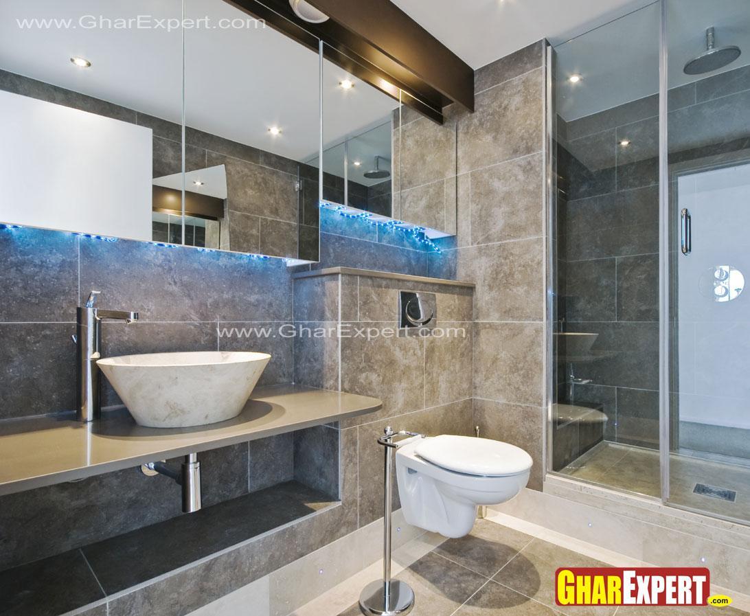 modern bathroom with big size ....