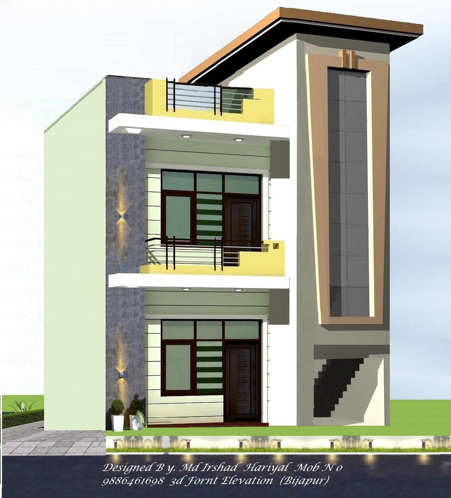 3d fornt elevation