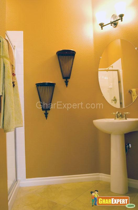 Simple Bathroom Wall Sconces : Wall Sconces in Bathroom