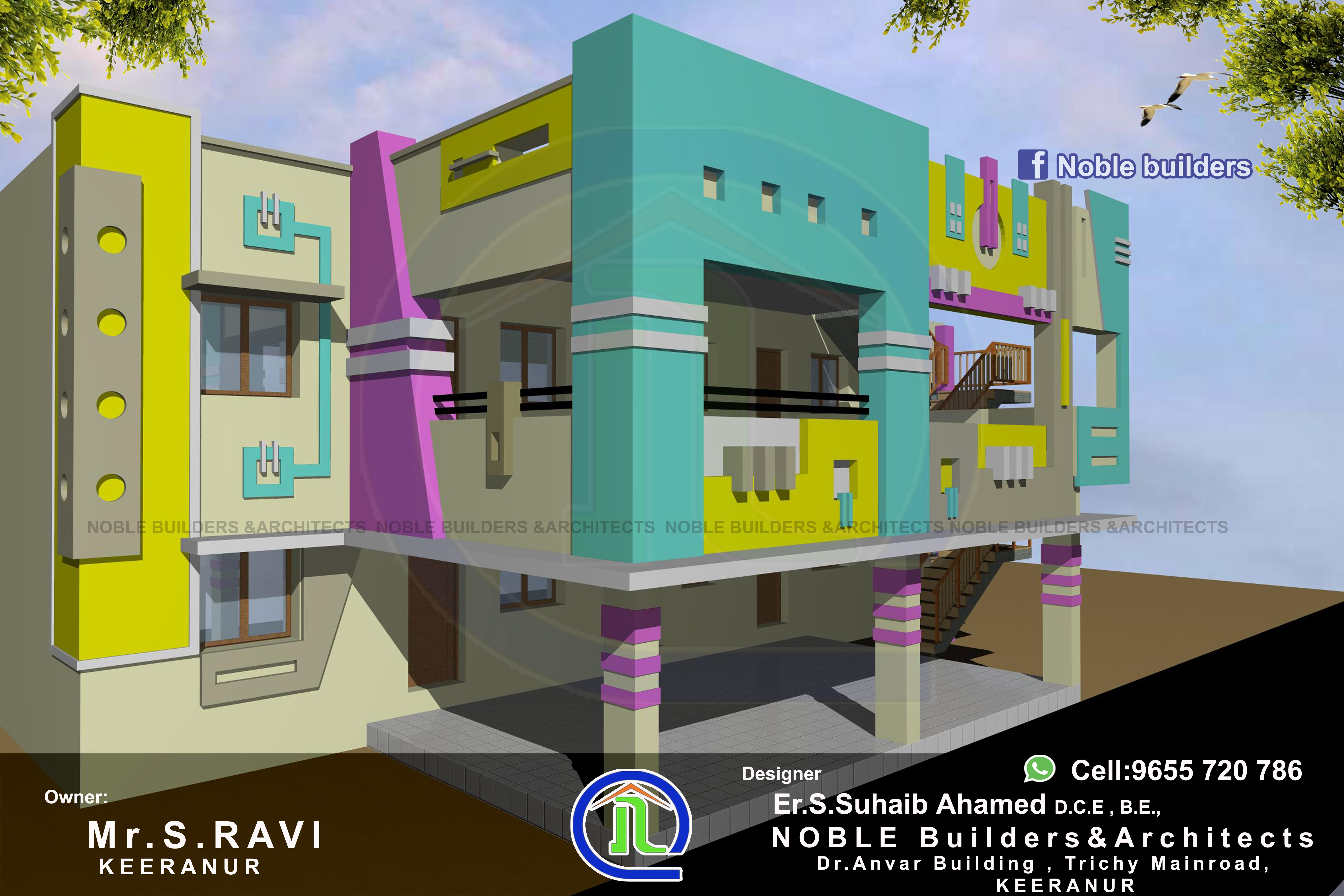 2story Residential Apartment